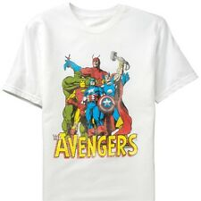 AVENGERS MARVEL COMICS 2XL XXL T SHIRT THOR, WASP, IRON MAN, GIANT MAN, HULK NEW