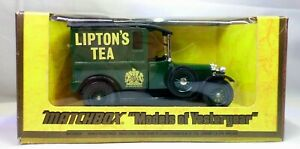 Models of Yesteryear Y-5 1927 Talbot Van Lipton's Tea Lesney 1977 Matchbox