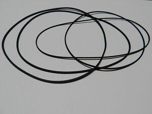Vierkant Riemen Set Philips N 4418 Rubber drive belt