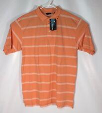 e5dc5ecc IZOD Mandarin Orange Mens Big & Tall Polo Golf Short Sleeve Shirt Size XLT