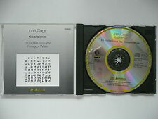John Cage - Roaratorio & Writing for the Second Time Through Wergo 6303 CD