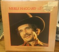 Merle Haggard at the Country House - Vinyl Record LP