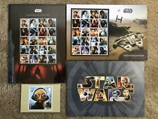Great Britain 2017 Star Wars Ultimate Collectors Sheet Set - Unmounted Mint, Mnh