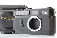 【 EXC+5 in CASE 】 Canon 7 Original BLACK Rangefinder Film Camera Body from JAPAN