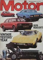Motor magazine 1/1/1977 featuring Renault 17 road test
