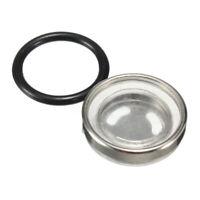 4PCS 18mm Motorcycle Brake Master Cylinder Reservoir Sight Glass Lens+Gasket