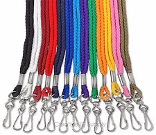 LANYARD - 5 PCS ROPE ROUND NECK LANYARD W/ SWIVEL HOOK