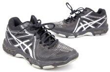 Asics Gel Netburner Ballistic Women's B558Y Black/Grey Volleyball Shoes - Sz 7.5