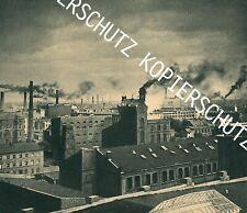Lodz -Łódź - Litzmannstadt - Textilfabriken um 1940 - Oberschlesien