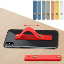 Replaceable Soft TPU Phone Holder Hand Strap For iPhone Samsung Xiaomi Cellphone