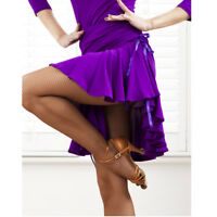 Latin salsa tango rumba Cha cha Square Ballroom Dance Dress#NN036 Skirt 2 Colors