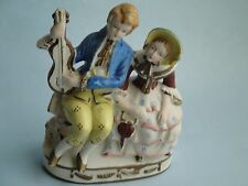 VINTAGE, ''MADE IN OCCUPIED JAPAN''  PORCELAIN FIGURINE, VICTORIAN COUPLE