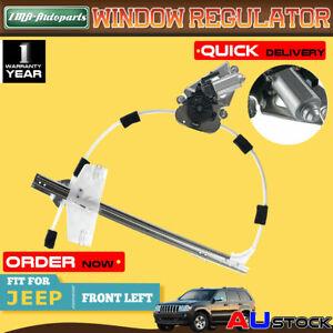 For Jeep Cherokee KJ 02-06 Front Left Power Window Regulator W/ Motor 55360031AJ