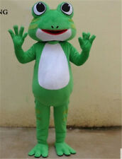 Frog Prince Mascot Costume Suit Fancy Dress Parade Party Animal Outfits Stage