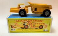 Lesney Matchbox Major Pack M10a Dinkum Dumper with Metal Wheel Hubs, Boxed