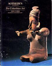 Sothebys Pre-Columbian Art New York November 1987 Colima