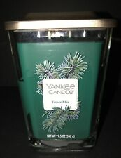 Yankee Candle FROSTED FIR Large 2 Wick 19.5oz Elevation Candle