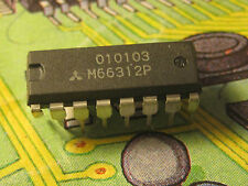 M66312P  8-Bit LED Driver with Shift Register and Latched 3-Stat Mitsubishi 1pcs