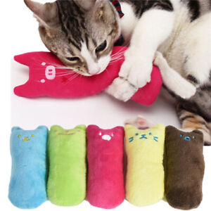 Pets Cats Kitten Catnip Toys Chewing Teeth Grinding Thumb Interactive Funny Toys