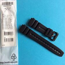 Casio Uhrband schwarz AD-300, DW-290  Ersatzband Replacement  Strap Band