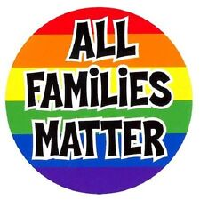 "NSI All Families Matter Pride Gay or Straight! 4.5"" Die-Cut Vinyl Decal STICKER"