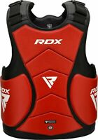 RDX Boxing Chest Guard MMA Belly Body Protector Martial Arts Rib Shield Armour