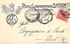 6006) BOLOGNA, REALE LABORATORIO ZARRI, MEDICINALI PRODOTTI VETERINARI. VG 1914.