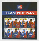 Philippine Stamps 2021 Tokyo Olympics - Filipino Medalists sheet of 8v, MNH