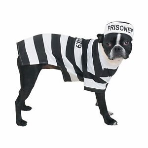 Casual Canine Prison Pooch Costume, XX-Large