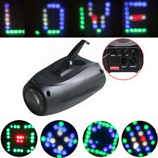 New DMX Sound 64 LED RGBW Small Airship Stage Lighting Party Pub Disco DJ Light