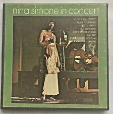 Very RARE 7-1/2ips  Nina Simone In Concert  Reel Tape