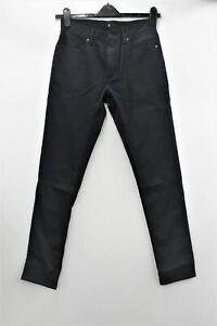 RAPHA Men's Navy Premium Denim Standard Fit Hi-Vis Cycling Trousers 30W 32L BNWT