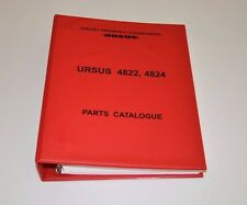 TRACTOR URSUS 4822 4824 PARTS CATALOGUE
