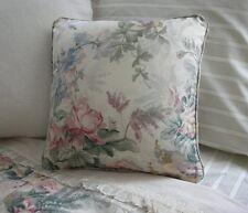 NEW Custom Ralph Lauren Winter Garden Floral Throw Pillow 16 inch Invis Zipper