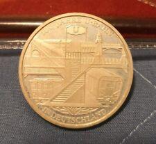 ef5dc8cc13 Nuova inserzione 10 EURO ARGENTO 2002 GERMANIA 100 JAHRE U-BAHN IN  DEUTSCHLAND