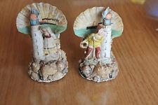 2 anciens souvenir de mer ( bateau phare pécheur )