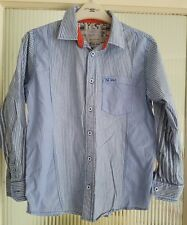 age 10-11 FatFace shirt blue VGC