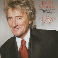 ROD STEWART - THANKS FOR THE MEMORY ... THE GREAT AMERICAN SONGBOOK - NEW CD!!