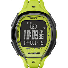 "Timex TW5M00400,  Unisex ""Ironman"" 150-Lap Watch, Alarm, Indiglo, Tap Screen"