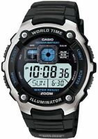 Casio Digital Men's Watch, 200 Meter WR, Chronograph, 5 Alarms,   AE2000W-1AV