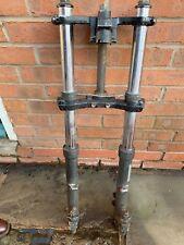 Kawasaki GPZ900r Used Set Front Anti Dive Forks C/W Top & Bottom Yokes