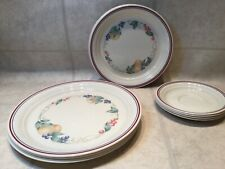 Corelle Dinnerware Abundance Set Of (4) 3 Piece Serving 12 Pcs