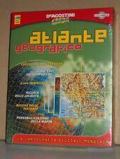 Atlante Geografico 2000 De Agostini Multimedia Cartografia Digitale CD Windows
