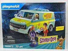 Playmobil 70286 Scooby Doo Mystery Machine (72 pc) Brand New & Sealed