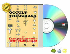 Occult Theocracy by Edith Star Miller, Lady Queensboroug Book On CDROM