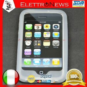 Custodia Cover TPU Morbida Trasparente Iphone 3G Apple Antiurto