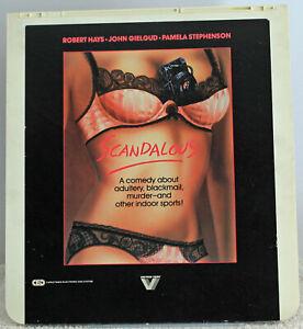 Videodisc Scandalous Movie CED VideoDisc Vestron Video