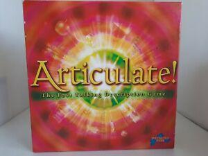Articulate Fast Talking Description Board Game 2002 Drummond Park  Complete VGC