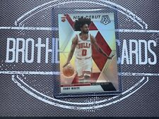 Coby White 2019-20 Mosaic Silver Rookie Debut Chicago Bulls