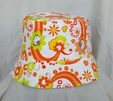 New cute Hello Kitty sun hat. Bucket hat. Holidays. Age 4+. Size m/l.